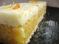 Slammin' Citrus Squares with White Chocolate-Lemon Thyme Icing