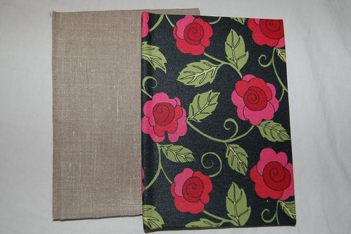 Two handmade blank books