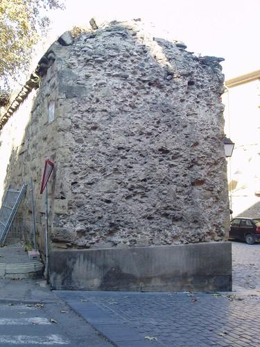 La antigua muralla de Logroño
