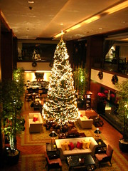 Christmas Tree at JW Marriott Bangkok