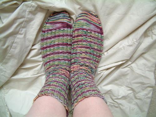 Garter Rib Socks STR SH