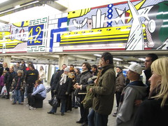 Roy Lichtenstein at 42nd Street