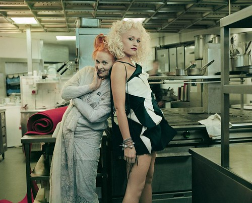 vivienne westwood with gwen stefani by icecreamcity.