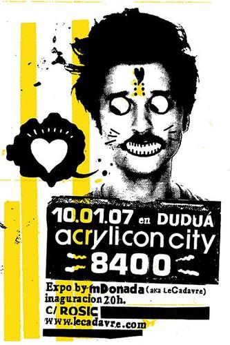 Expo Acrylicon City 8400 en Duduá