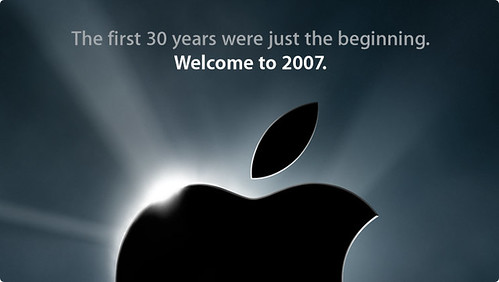 Macworld de Apple 2007