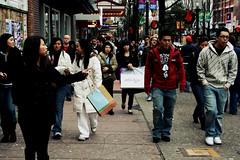. (primarita) Tags: street canada vancouver granville boxingday withpasko