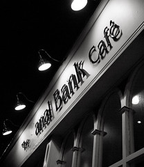 The Anal Bank Cafe...Funny, No?