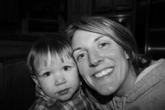 mom and emery