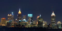 Atlanta_Skyline_from_Buckhead (KoehlerColor) Tags: city longexposure atlanta night nikon buckhead nikond200 capturenx nikoncapturenx