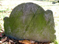 ye old burying ground (Mr. Dillinger) Tags: tombstone mossy