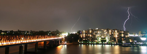 Lightning over the Iron Cove