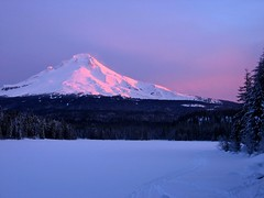 Trillium Lake and Mt Hood (Dan Sherman) Tags: portland mthood pdx portlandoregon columbiarivergorge trilliumlake mthoodsnow trilliumlakeandmthood danphotomancom