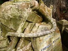 Anchor grave : Detail
