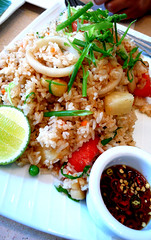 people's palace pineapple seafood fried rice