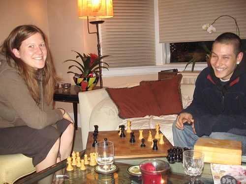 Meaghan and James at Chess