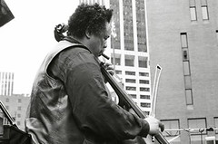 Charles Mingus with bow (Tom Marcello) Tags: blackandwhite photography bass jazz jazzmusic jazzmusicians jazzconcert livejazz charlesmingus jazzplayers jazzphotos jazzphotography nycjazz jazzphotographs tommarcello