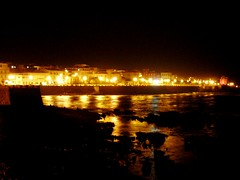 Nocturne (valerius25) Tags: sardegna sea night reflections mare sardinia riflessi notte alghero alguer bastioni valerius valerius25 valeriocaddeu