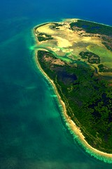 putli (Farl) Tags: travel blue beach nature colors island sand empty philippines aquamarine aerial mangrove unknown sulu uninhabited archipelago tawitawi armm