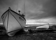Memories (iJohn) Tags: ocean winter blackandwhite storm cold tag3 taggedout boats boat tag2 waves tag1 novascotia shore bayoffundy fishingboat kiss2 darkskies kiss3 kiss1 kiss4 abigfave impressedbeauty