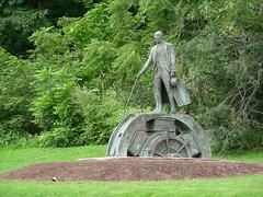 Nikola Tesla monument