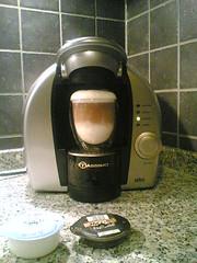 Latte Macchiato mit der Tassimo