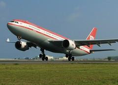 D-ALPB (╚ DD╔) Tags: ltu hjeq 3c7202 a332 airbus takeoff runway airplane airraft red dalpb