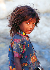 Indian girl (nick rain images) Tags: world poverty life girls portrait people india kid asia poor picture photojournalism migration 2008 streetkids struggle global childlabour streetkid