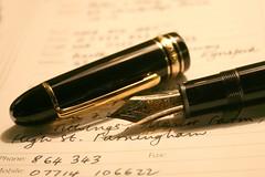 pen (Linda Cronin) Tags: black macro pen ink writing book gamewinner 3waychallengewinner cywinner cy2winner flickrchallengewinner faceoffwinner 15challengeswinner lindacronin motifdchallengewinner photofaceoffwinner photofaceoffplatinum faceoffgold likeitornotwinner a3bchallengewinner challengegroupgame thechallengegame challengegamewinner friendlychallenges pregamesweepwinner