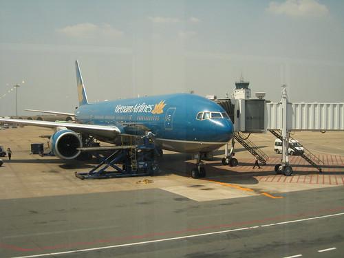 越南航空似乎是跟華航合作的