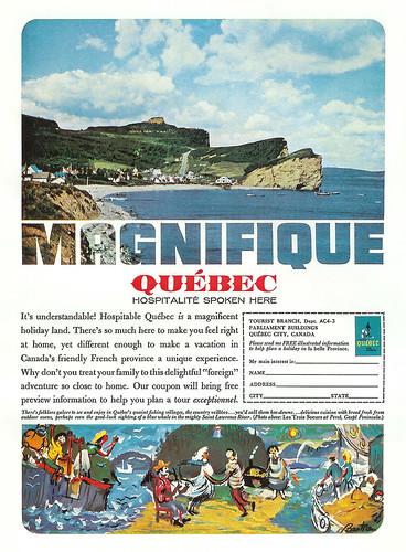 Vintage Ad #169 - Quebec Magnifique