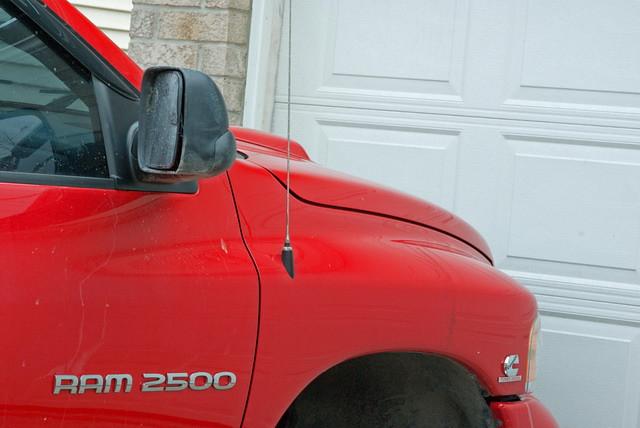 red white toronto truck pentax dodge ram 2500 k10d toronto2007