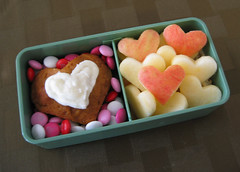 Post Valentine's Day Snack Bento