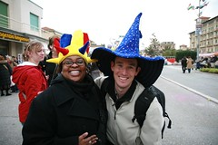 Darren and Kandace with new hats