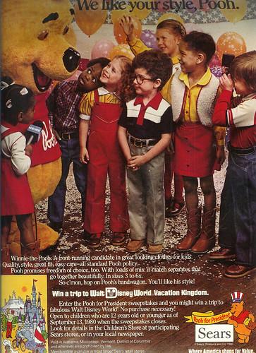 Vintage Ad #173 - Vote for Winnie!