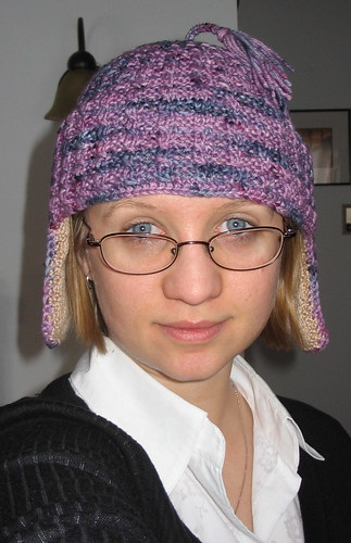 k2 earflap hat (on me)