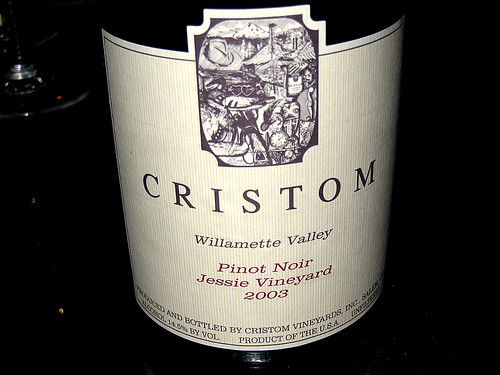 Cristom Pinot Noir