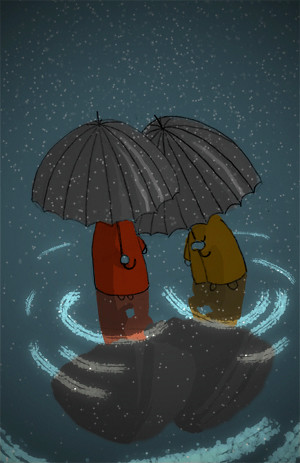Paraguas-copas