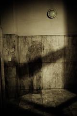 the photographer was here (cinocino) Tags: portrait night self noche autoretrato ombre autoritratto piacenza notte linee