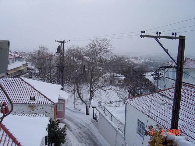 Πυργετος-χιονι2006