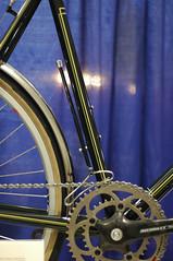 Tony Pereira's Constructeur Front Derailleur (monsterpartyhat) Tags: bicycle front derailleur constructeur nahbs tonypereira pereiracycles nahbs2007 boxlining