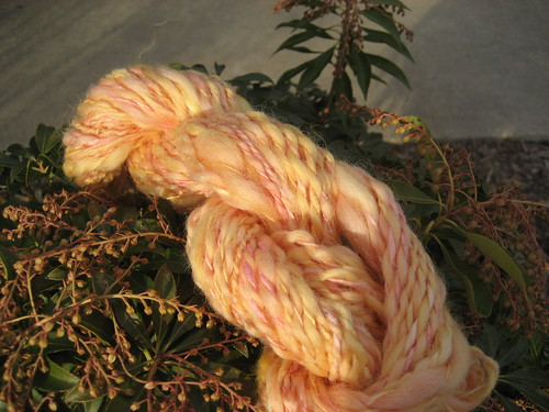 Grapefruit wool/silk