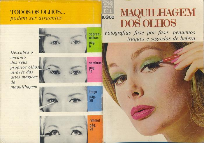 ART ON FACE AND HAIR: Period Make Up - 1970s & 1980s 70s makeup
