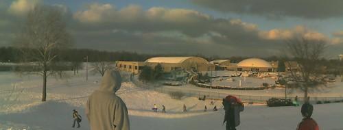 hill sledding sled dayton