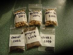 Saved seed