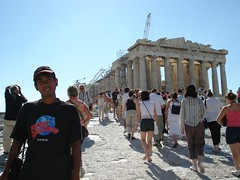 Parthenon di Acropolis, Athens, Greece