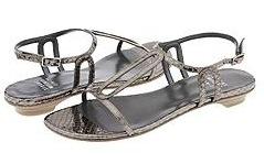 "Stuart Weitzman ""Oval"" sandals"