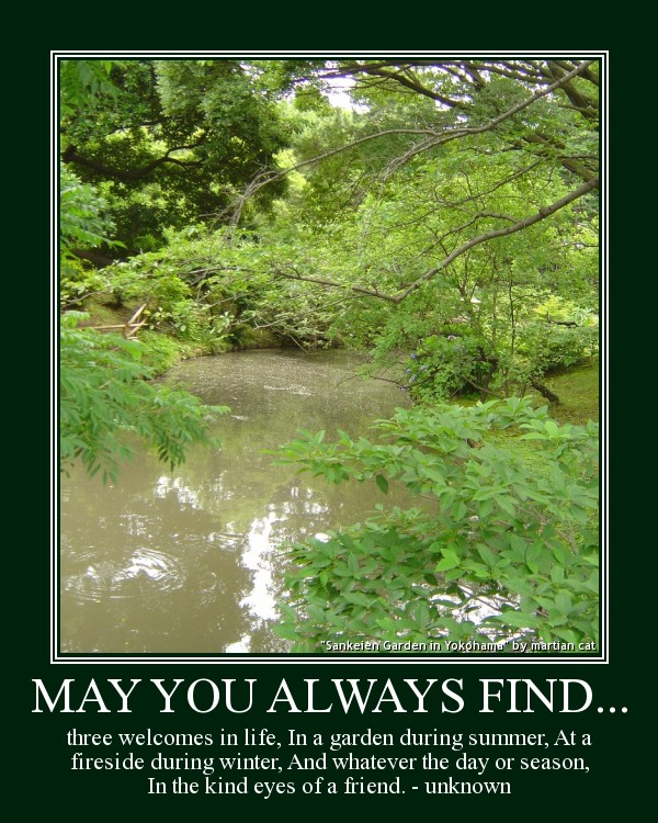 May you always find...