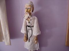 Kung Fu Master Marionette by Tony Sinnett