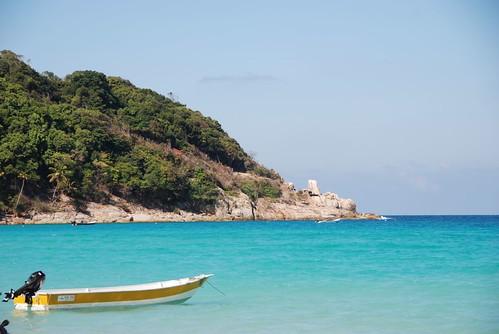 Pulau Kecil, Long beach