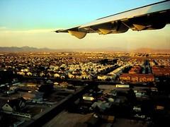 Vegas Burbs (ernieski) Tags: las vegas plane wings lasvegas nevada aerialview suburbs
